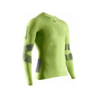 X-BIONIC® EFFEKTOR 4.0 RUN POWERSHIRT LG SL MEN EFFEKTOR GREEN/ANTHRACITE