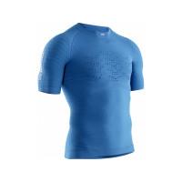 X-BIONIC® EFFEKTOR RUN SHIRT 4.0 Men TEAL BLUE/DOLOMITE GREY