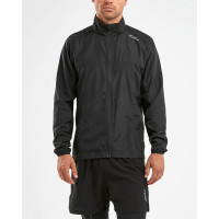 pánska bunda 2XU M XVENT Run Jacket MR5435a Black