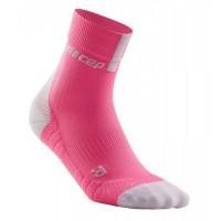 Cep Short Socks 3.0 Rose/Light Grey