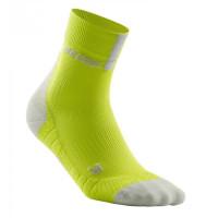 Short Socks 3.0 Lime/Light Grey