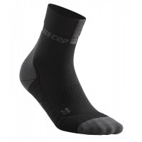 Cep Short Socks 3.0 Black/Dark Grey