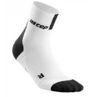 Cep Short Socks 3.0 White/Dark Grey