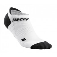 No Show Socks 3.0 White/Dark Grey
