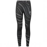 Odlo BLACKCOMB Base Layer Pants 187071-60064  black - odlo concrete grey