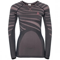 Odlo BLACKCOMB Long-Sleeve Base Layer Top odyssey gray - mesa rose
