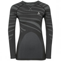 Odlo BLACKCOMB Long-Sleeve Base Layer Top black - odlo concrete grey