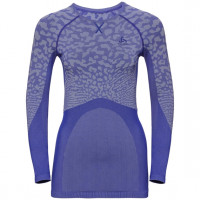 Women's BLACKCOMB Long-Sleeve Base Layer Top clematis blue - tradewinds