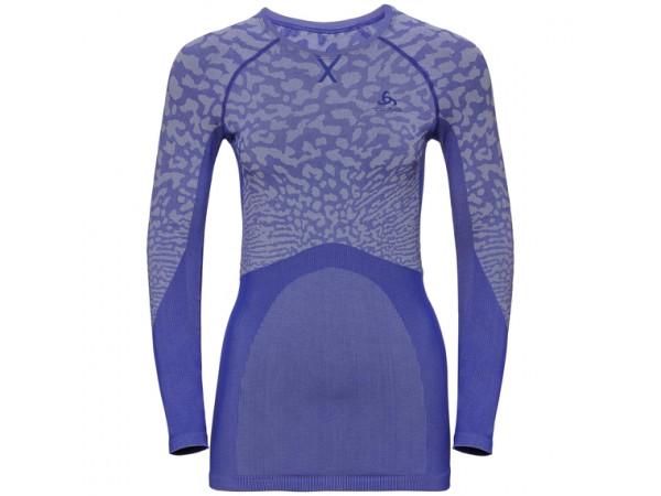 Women's BLACKCOMB Long-Sleeve Base Layer Top clematis blue - tradewinds
