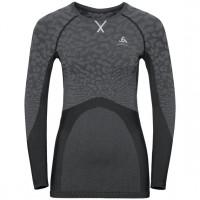 Women's BLACKCOMB Long-Sleeve Base Layer Top black - odlo steel grey - silver