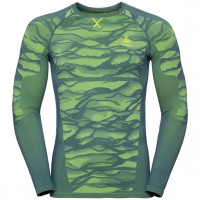 Men's BLACKCOMB Long-Sleeve Base Layer Top bering sea - safety yellow