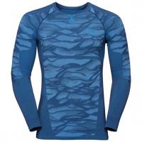 Men's BLACKCOMB Long-Sleeve Base Layer Top estate blue - directoire blue