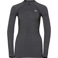 ODLO FUTURESKIN Long-Sleeve Base Layer Top 187051-15012 stormy weather - black