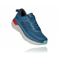 HOKA one one Bondi 7 wide 1110530-RTOS REAL TEAL / OUTER SPACE