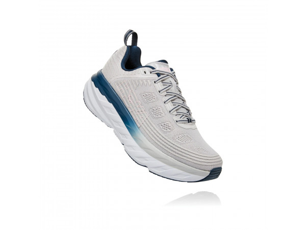HOKA one one Bondi 6 1019270-LRNC Lunar Rock/Nimbus Cloud