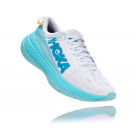 HOKA one one Carbon X 1102887-WALB WHITE / ANGEL BLUE