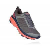 HOKA one one  Challenger ATR 5 1104094-CGFC Charcoal Grey/Fusion Coral