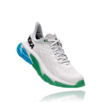 HOKA one one Clifton Edge 1110511-NCGR NIMBUS CLOUD / GREEN