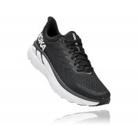 HOKA one one Clifton 7 1110508-BWHT BLACK / WHITE