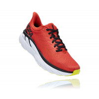 HOKA one one Clifton 7 1110508-CLBLC CHILI / BLACK