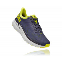 HOKA one one Clifton 7 1110508-OGEP ODYSSEY GREY / EVENING PRIMROSE