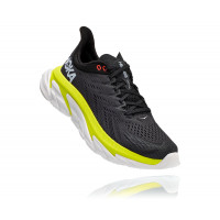 HOKA one one Clifton Edge 1110510-AEPR ANTHRACITE / EVENING PRIMROSE