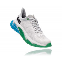 HOKA one one Clifton Edge 1110510-NCGR NIMBUS CLOUD / GREENBRIAR