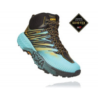 HOKA ONE ONE Speedgoat Mid 2 GTX 1106533-ASGRD Antiqua Sand/Golden Rod