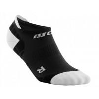 Cep No Show Socks Ultralight Black/Light Grey
