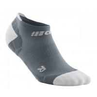 Cep No Show Socks Ultralight Grey/Light Grey