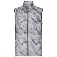 Odlo Men's Vest ZEROWEIGHT 312562-10651 odlo graphite grey - paper print