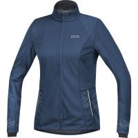 GORE® R5 Women GORE® WINDSTOPPER® Jacket Deep Water Blue