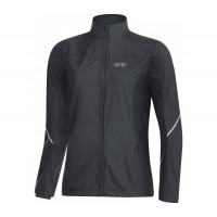 GORE® R3 Women Partial GORE® WINDSTOPPER® Jacket Terra grey/black