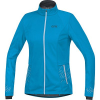 GORE® R5 Women GORE® WINDSTOPPER® Jacket Dynamic Cyan