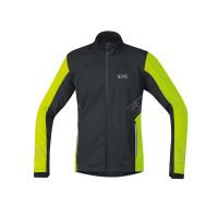 GORE® R5 GORE® WINDSTOPPER® Jacket  100153-9908  Black/Neon Yellow
