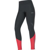 GORE® R5 Women GORE® WINDSTOPPER® Tights Black/Hibiscus Pink