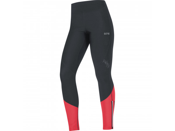 GORE® R5 Women GORE® WINDSTOPPER® Tights Black/Hibiscus Pink
