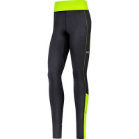 GORE® R3 Women Thermo Tights black/neon yellow