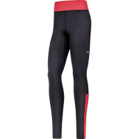 GORE® R3 Women Thermo Tights black/hibiscus pink