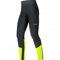 GORE® R5 GORE® WINDSTOPPER® Tights Black/Neon Yellow