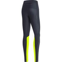 GORE® R5 Women GORE-TEX INFINIUM™ Tights Black/Neon yellow