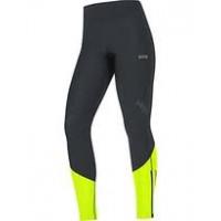 GORE® R5 Women GORE® WINDSTOPPER® Tights Black/Neon Yellow