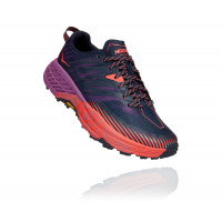 HOKA ONE ONE Speedgoat 4 1106527-OSHC OUTER SPACE / HOT CORAL