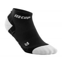 Cep Low Cut Socks Ultralight Black/Light Grey
