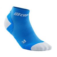 Cep Low Cut Socks Ultralight Blue/Light Grey