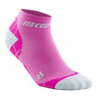 Cep Low Cut Socks Ultralight Pink/Light Grey