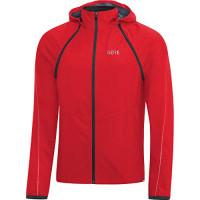 GORE® R3 GORE® WINDSTOPPER® Zip-Off Jacket Red