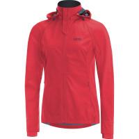 GORE® R3 Women GORE® WINDSTOPPER® Zip-Off Jacket Hibiscus pink/black