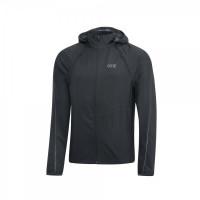 GORE® R3 GORE® WINDSTOPPER® Zip-Off Jacket Black