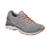 dámska obuv Asics GT- 3000 5 mid grey/stone grey/canteloupe